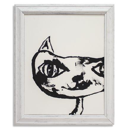 Jerry Vile Original Art - Invincible Cat