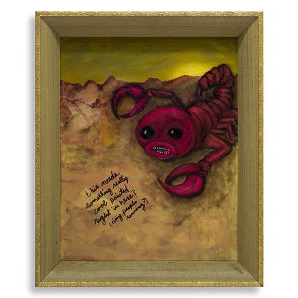 Jerry Vile Original Art - Note To My Future Assistant (Scorpio)