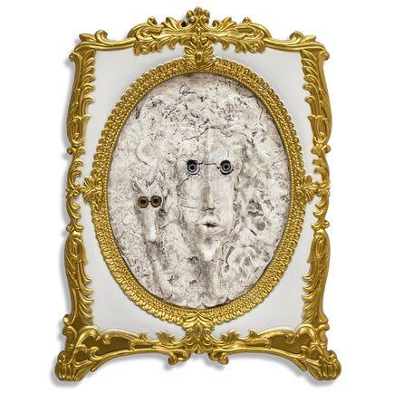 Jerry Vile Original Art - Countess, Irrestabella & Hound