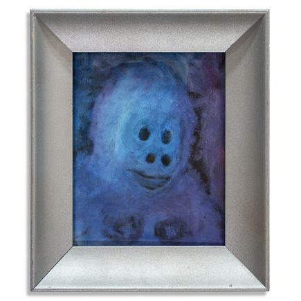 Jerry Vile Original Art - Mezmeratic Monkey