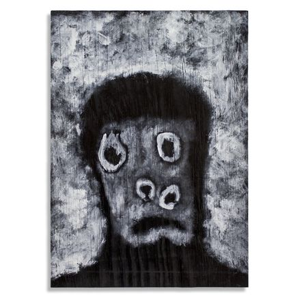 Jerry Vile Original Art - This Was Painted To Make You Feel Stupid