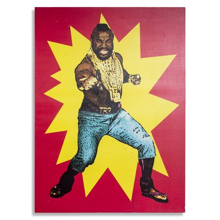 Jerry Vile Original Art - Mr. T