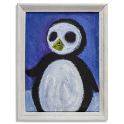 Jerry Vile Original Art - Pengy The Penguin Or Something