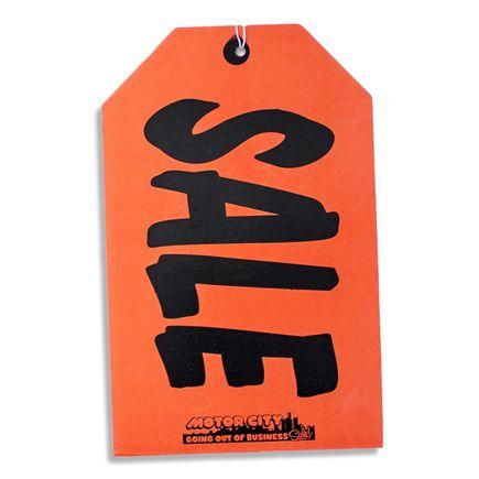 Jerry Vile Art - Sale Tag - Large