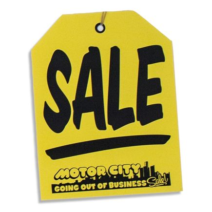 Jerry Vile Art - Sale Tag - Medium
