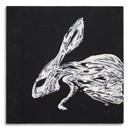 Jerry Vile Original Art - Mind-altering Rabbit