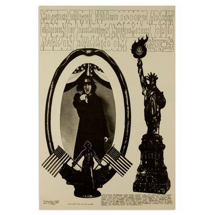 Jerry Wainwright Art - Mother Earth, Kaleidoscope at Avalon Ballroom - November 1968