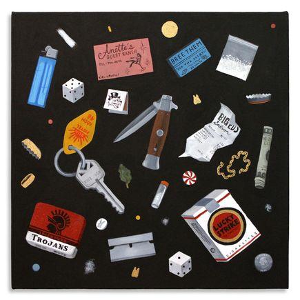 Jesse Kassel Original Art - Party In My Pocket - Original Painting