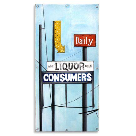Jesse Kassel Original Art - Daily Liquor Consumers - Original Painting