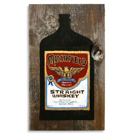 Jesse Kassel Original Art - Mansfield Whiskey - Original Painting