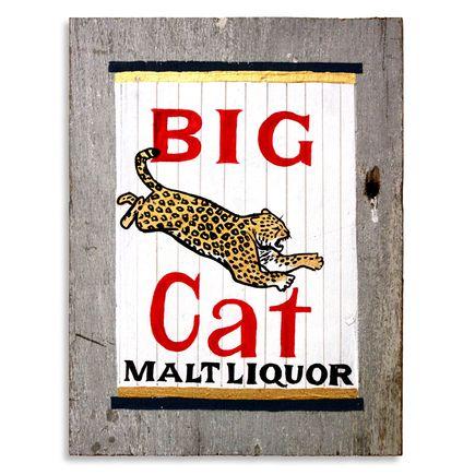Jesse Kassel Original Art - Big Cat Malt Liquor - Original Painting
