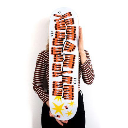 Jesse Kassel Art Print - Bangin - Skate Deck Variant