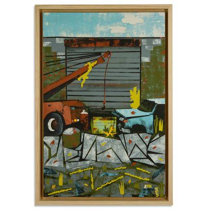 Jesse Kassel Original Art - Tow Truck & F-150
