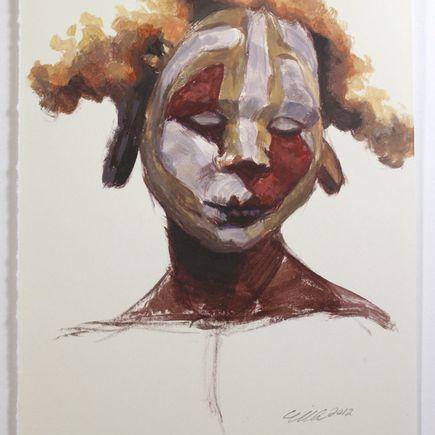 Mia Araujo Original Art - Jester - Acrylic Study