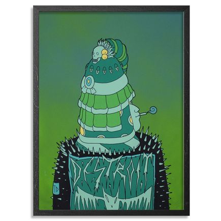 Jesus Benitez Art - Destroit - Green Edition