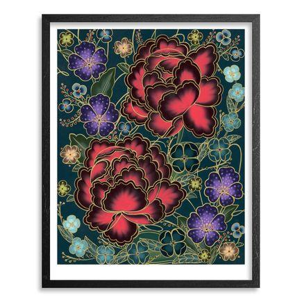 Jet Martinez Art Print - Amor Con Amor Se Paga - Hand-Embellished Prints