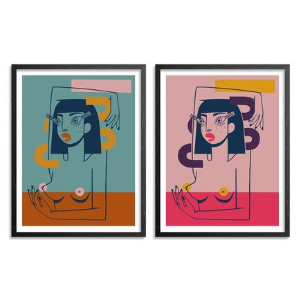 Jillian Evelyn Art Print - 2-Print Set - Lost In It