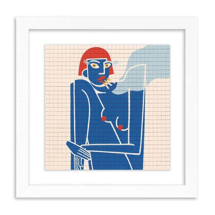 Jillian Evelyn Art Print - Feeling Blue - Blotter Edition