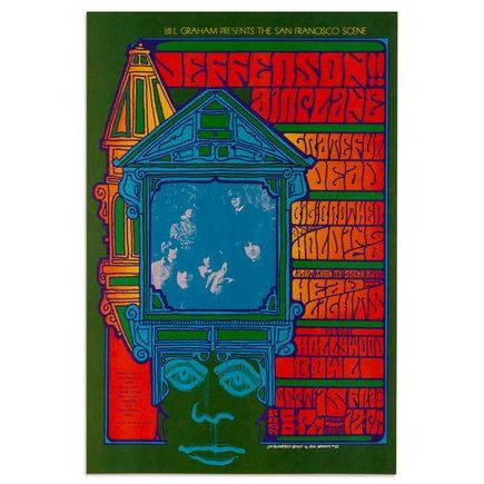 Jim Blashfield Art - Jefferson Airplane, Grateful Dead at Hollywood Bowl - September 1967
