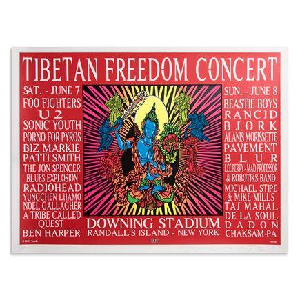 Jim Evans / Taz Art Print - Tibetan Freedom Concert - 1997