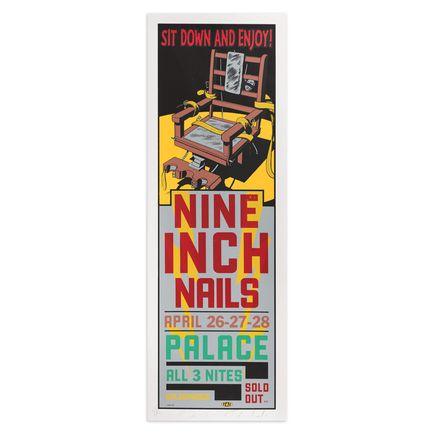Jim Evans / Taz Art Print - Nine Inch Nails - Hollywood Palace - 1994