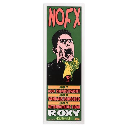Jim Evans / Taz Art Print - NOFX - Roxy - 1995