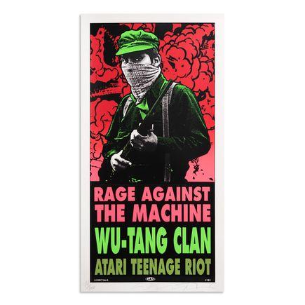 Jim Evans / Taz Art Print - Rage Against The Machine - Wu-Tang Clan - 1997