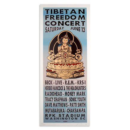 Jim Evans / Taz Art - Tibetan Freedom Concert - June 13th, 1998 at RFK Stadium