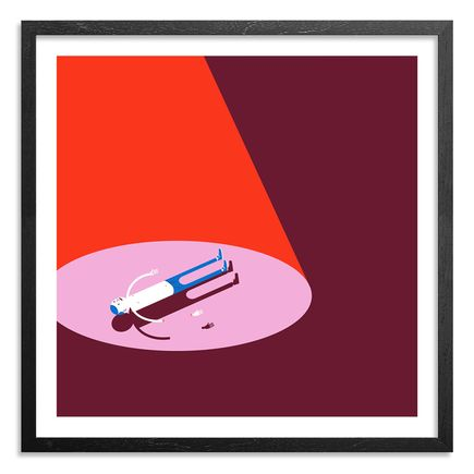 Jim Houser Art Print - Floats - Red Edition