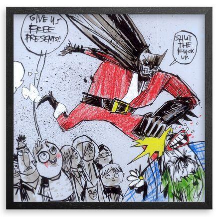 Jim Mahfood Original Art - Dark Night Santa