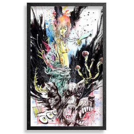 Jim Mahfood Original Art - Mind Is On Fire