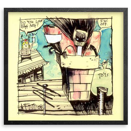 Jim Mahfood Original Art - The Egg Nog Bat