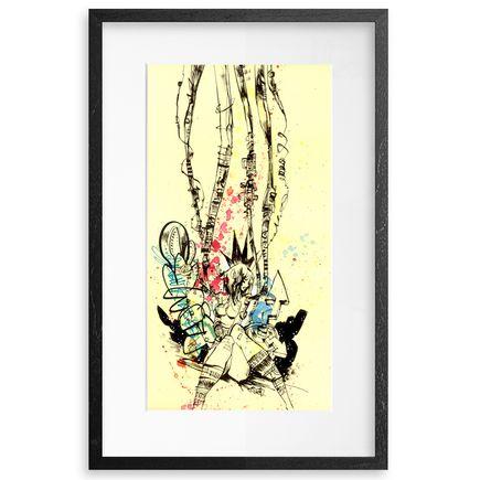 Jim Mahfood Original Art - Time Keeps On Slippin'