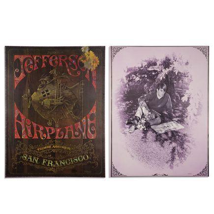 Jim Michaelson Art - Jefferson Airplane at Fillmore Auditorium