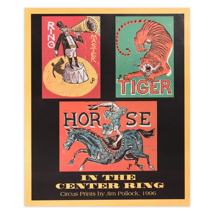 Jim Pollock Art Print - In The Center Ring - The Clifford Ball - 1996