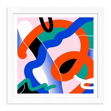 Joe Geis Art Print - I'm Losing My Mind, But I Don't Mind