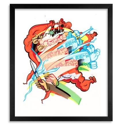 Rime Art Print - Hot Spot - Limited Edition Prints