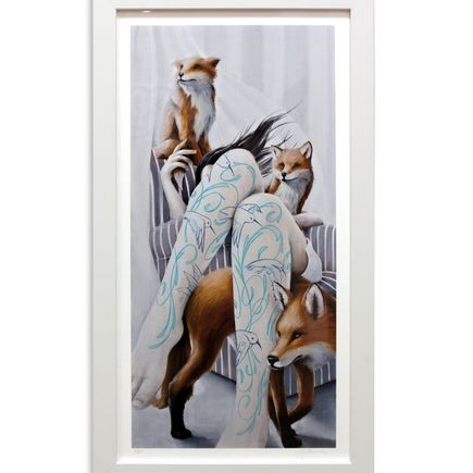Joey Remmers Art Print - The Watchers - Embellished Edition