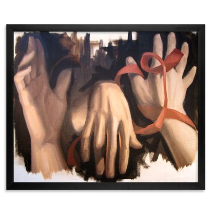 Joey Remmers Original Art - Hands Study - Original Painting