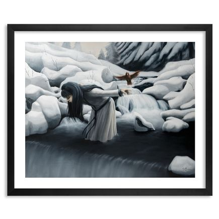 Joey Remmers Art Print - Unstable Perch