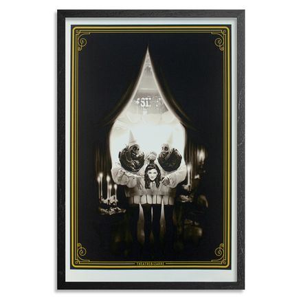 John Dunivant Art Print - The Illusionists' Ball - Framed