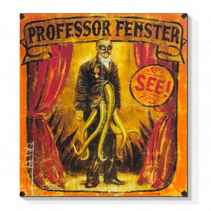 John Dunivant Art Print - Professor Fenster