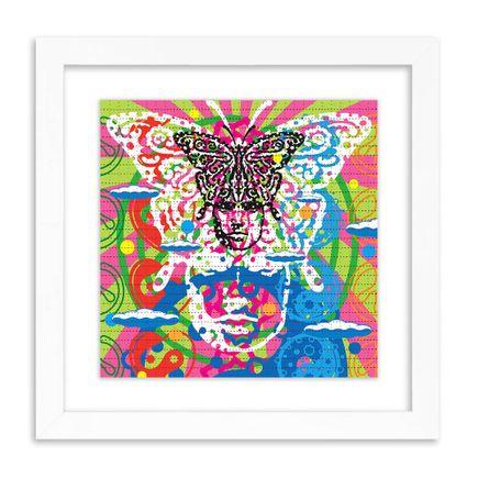 John Van Hamersveld Art Print - Butterfly - Blotter Edition