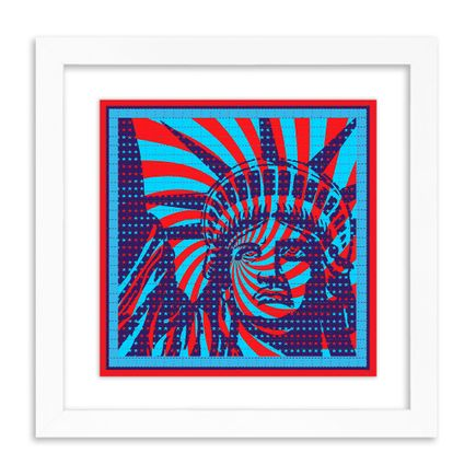 John Van Hamersveld Art Print - Liberty - Blotter Edition