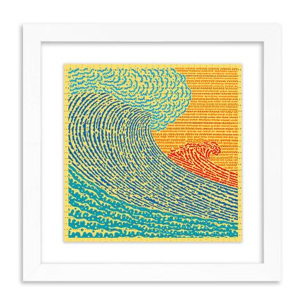 John Van Hamersveld Art Print - The Big Wave - Blotter Edition