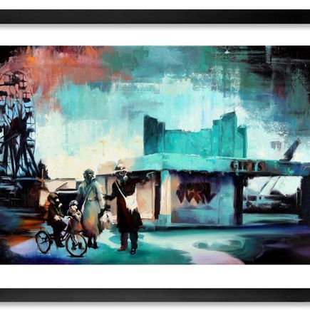 John Wentz Art Print - Between Light & Shadow - Hand-Embellished Edition