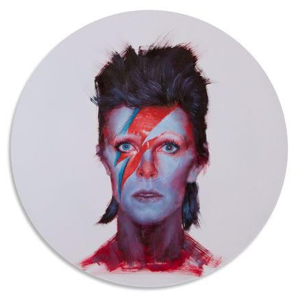 John Wentz Original Art - David Bowie - Original Artwork