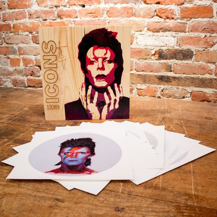 John Wentz Art - Icons - David Bowie Box Set