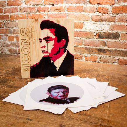 John Wentz Art - Icons - Johnny Cash Box Set
