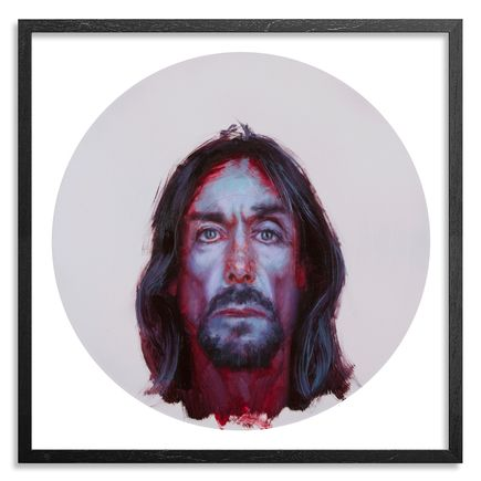 John Wentz Art Print - Iggy Pop